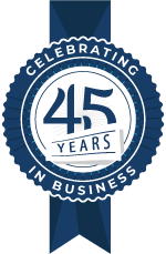 Celebrating 45 Years in Business